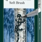 Pitt Artist Pen soft brush set 4 buc Faber-Castell